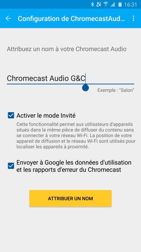 Chromecast Configuration 05