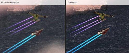 PlayStation 2 vs PlayStation 4 Emulation - Jeux Star Wars 2