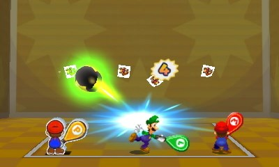 Mario & Luigi Paper Jam Nintendo 3DS Tennis