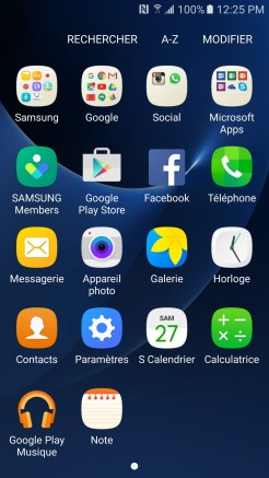 Samsung Galaxy S7 - Applications