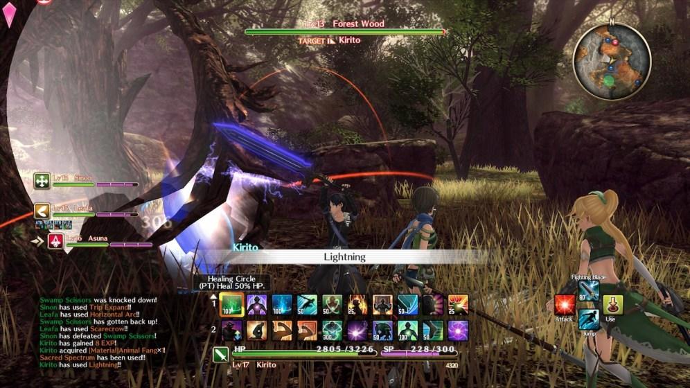 Sword Art Online Hollow Realization Preview 1