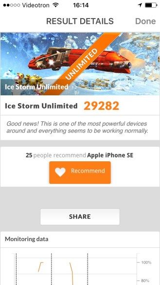 iPhone SE 3D Mark - 02