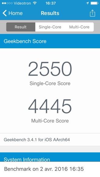 iPhone SE Geekbench - 02