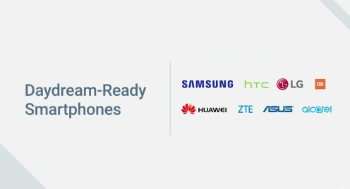 Google Daydream - Telephones compatibles