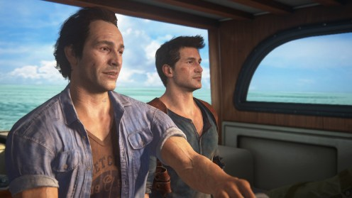 Uncharted 4 Nathan et Sam