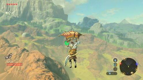 The Legend of Zelda Breath of the Wild Paraplane