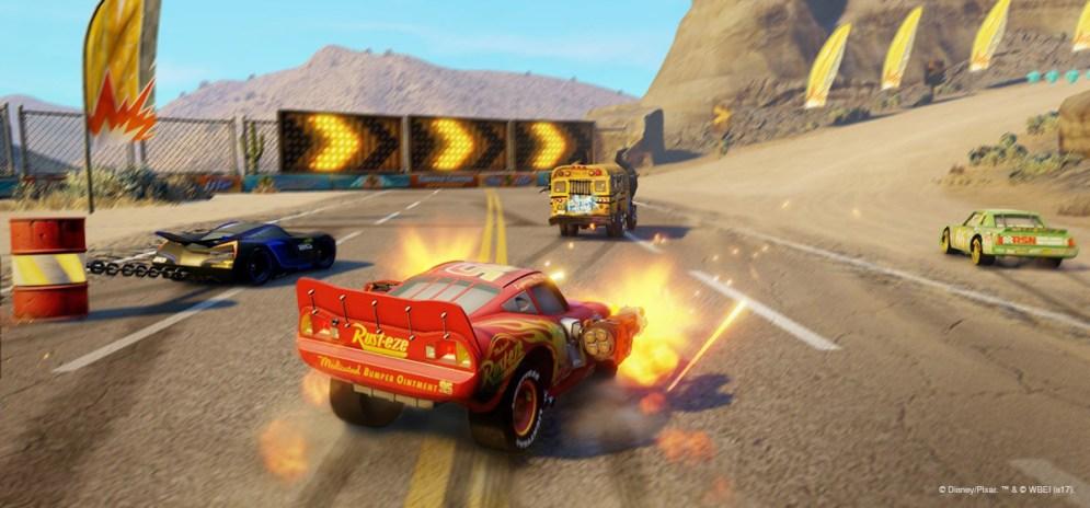 Cars 3 Battle mode 3
