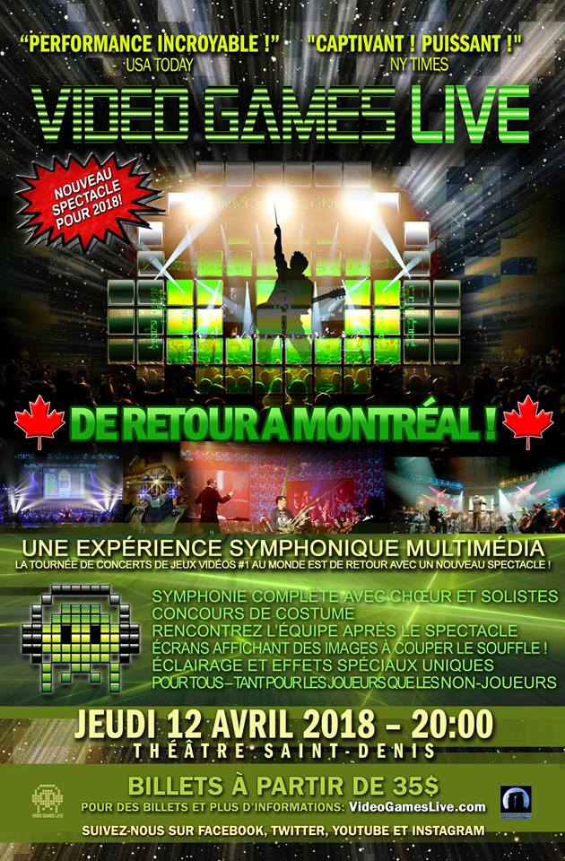 Video Games Live MTL