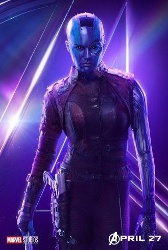 Avengers-Infinity-War-Affiche-Nebula