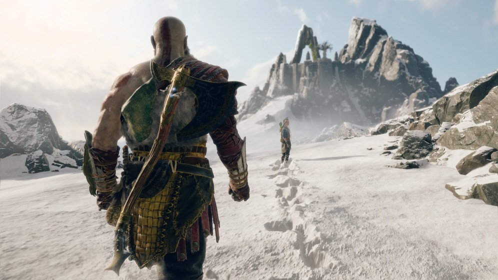 God of War Montagne 2