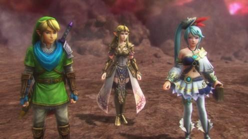 Hyrule Warriors Definitive Edition Zelda Link Lana
