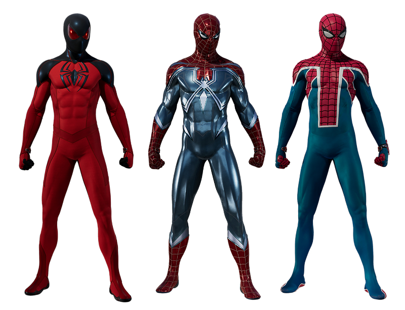 Marvel's Spider-Man - The Heist - Suits