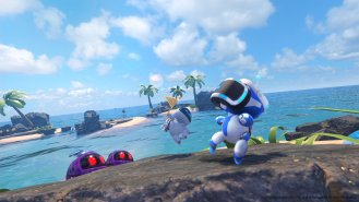 Astro Bot Rescue Mission Eau