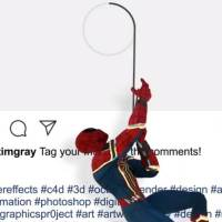 Awesome 3D Animations That Cleverly Appear to Break the 'Fourth Wall' of Instagram Posts