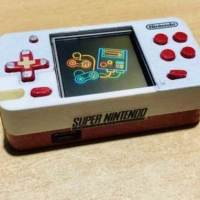 Mini SNES Pi Zero Nano is a New Pocket Games Console
