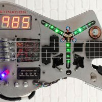 BACK TO THE FUTURE Inspired Bass Guitar