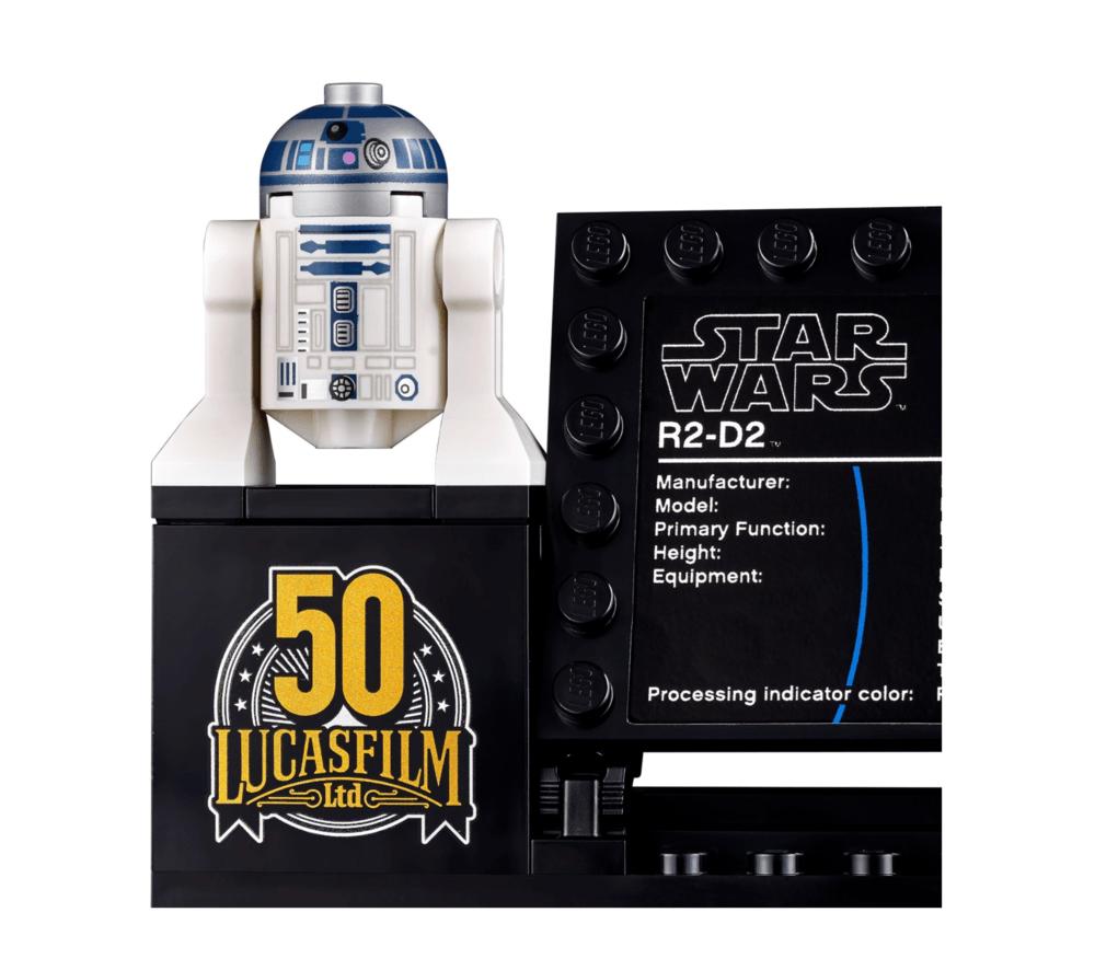 R2-D2 STAR WARS LEGO Set