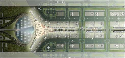 Beijing 2008 Airport Terminal