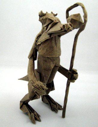 Kobold Origami Model