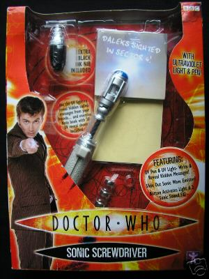 how to make a sonic screwdriver that works
