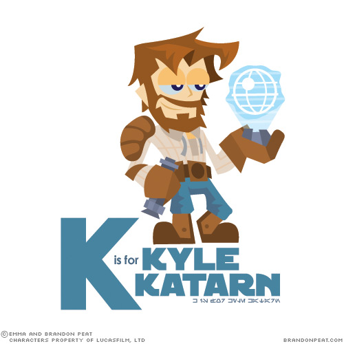 K is for Kyle Katarn
