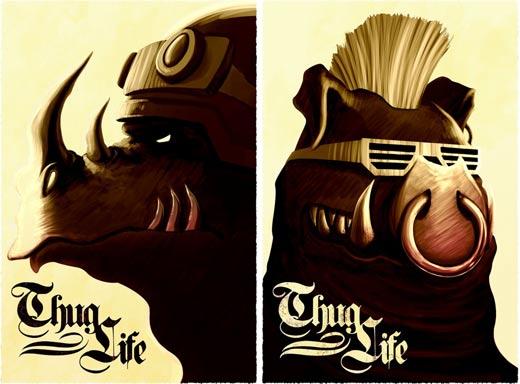 Thug-Life! Bebob an' Rocksteady