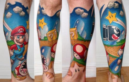 mario-tattoo