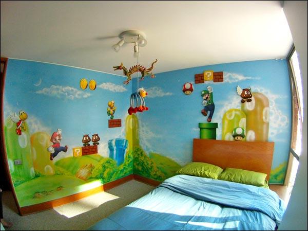 The Ultimate Super Mario Bros. Bedroom [Pic]