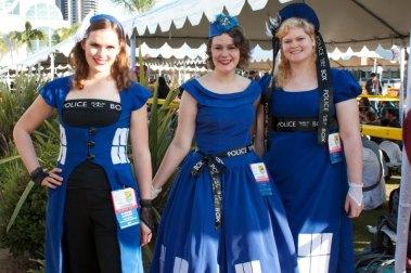 TARDIS dresses