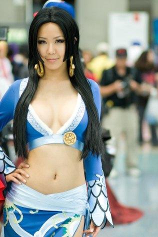 Boa Hancock cosplay