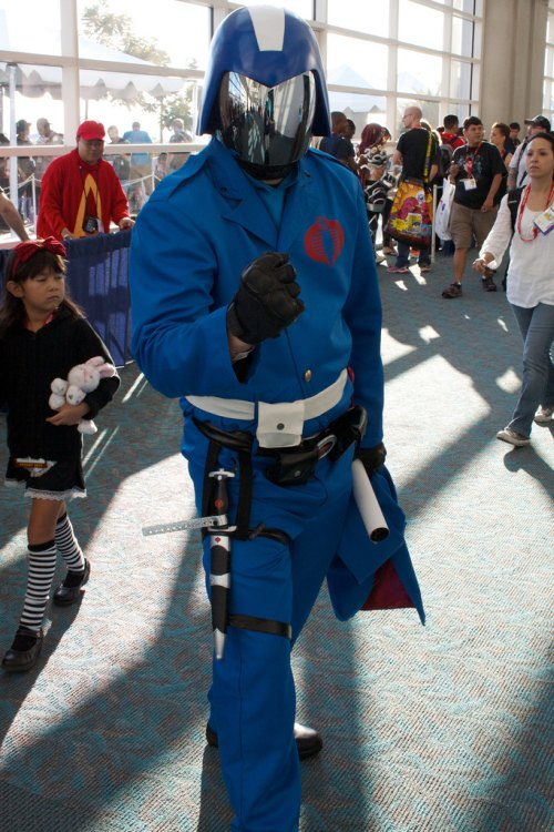Cobra Commander will crush you