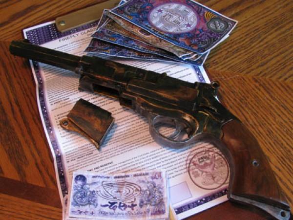 Captain Mals Papercraft Pistol Gallery