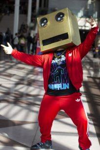 LMFAO Robot (New York Comic Con 2011)
