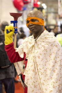 Blankman (New York Comic Con 2011)