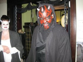 Kwamé as Darth Maul