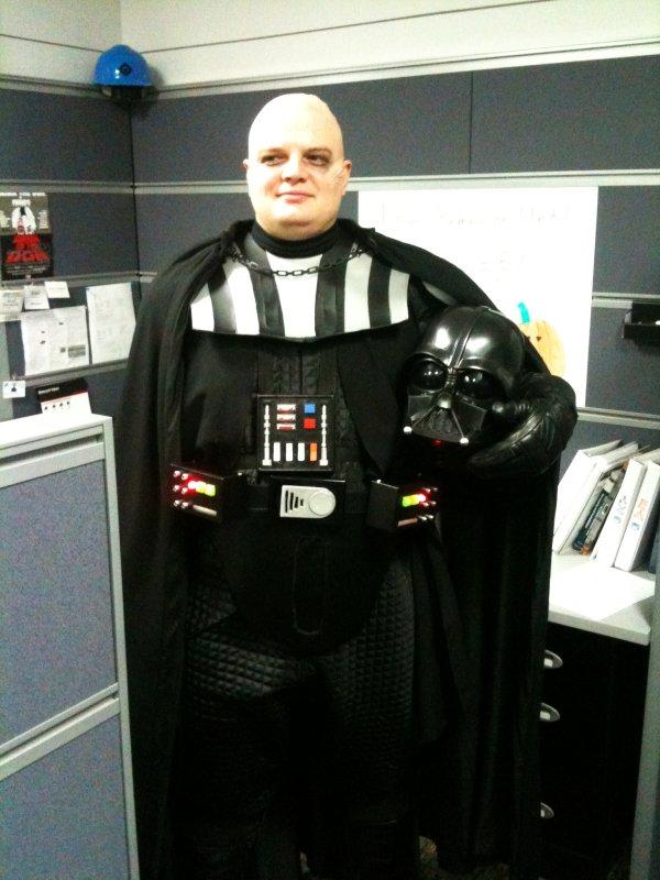 Snowy the Geek - Darth Vader
