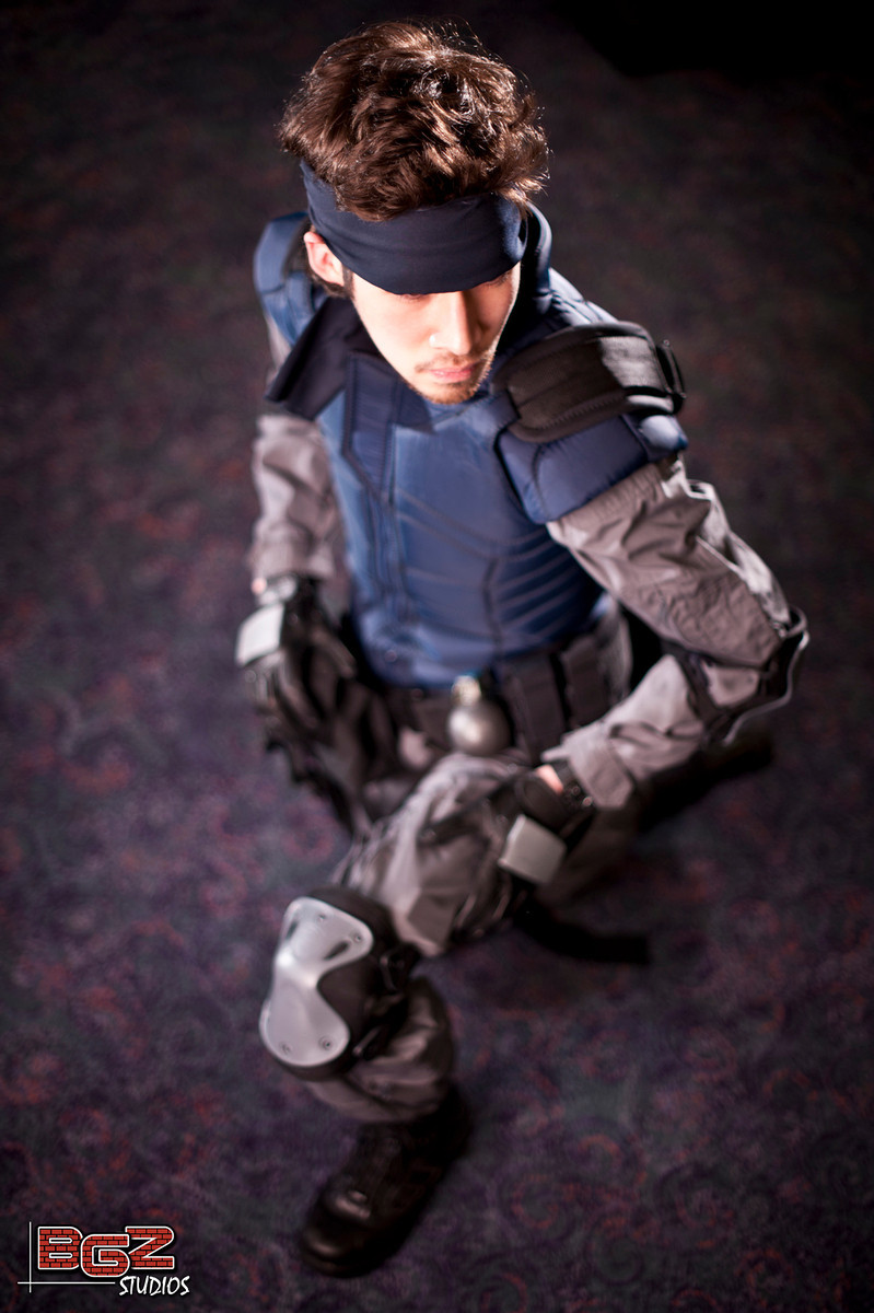 Metal Gear Solid - Snake (photo by http://bgzstudios.com)