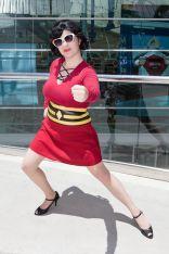 Gender Bent Justice League Elastic Lady