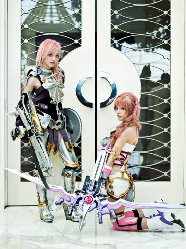 FFXIII-2 Lightning and Serah - Picture by Anna Fischer