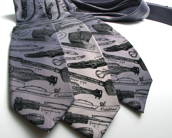 Tie for the Music Geek