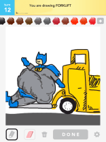 Drawsome Batman-Forklift