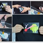 Sound Activated Android Destroying Apple Tee2