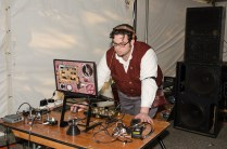 DJ Dr. Q at S.T.E.A.M.Fest; photo by Betwixt