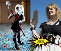 Bunnyko as steampunk Harley Quinn