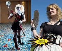 Bunnyko as steampunk Harley Quinn