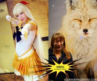 Koneko as Sailor Venus from Sailor Moon