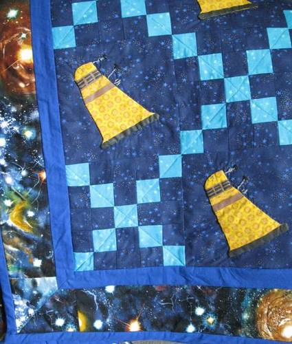 Is Doctor Who Tardis Quilt Greatest Wedding Gift Ever