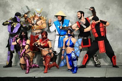 Mortal Kombat - SDCC 2012 - Bill Watters