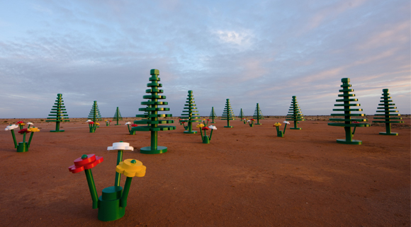 LEGO Forest Broken Hill 8