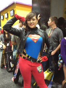 Super Girl - Aggressive Comix - San Diego Comic-Con 2012